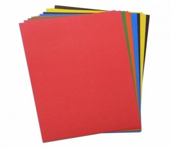 Цветной картон