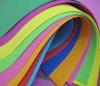 Фоамиран разноцветный
