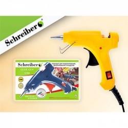 Клеевой пистолет Schreiber мощность- 20 Вт