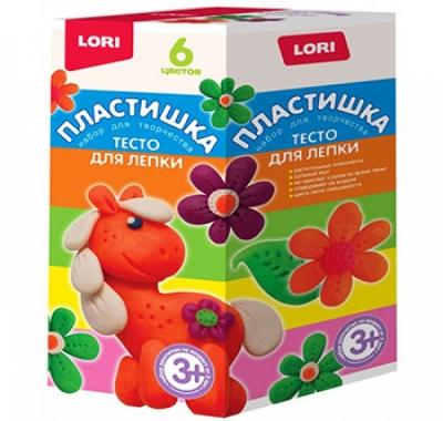 Тесто для лепки Lori Пластишка Набор №15