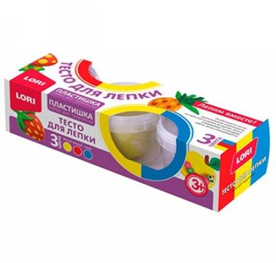 Тесто для лепки Lori Пластишка Набор №18