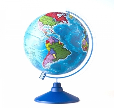 Глобус Globen на батарейках Земли Политический Классик Евро, с подсветкой