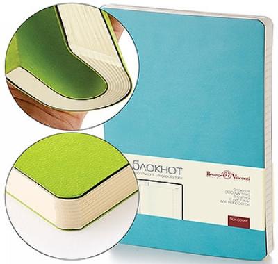 Блокнот А5 искусственная кожа 100л Bruno Visconti Megapolis flex