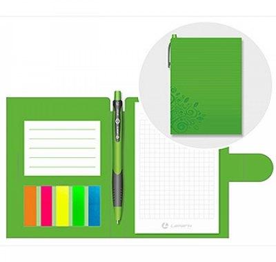 Блокнот-органайзер А6 50л Lamark Зеленый