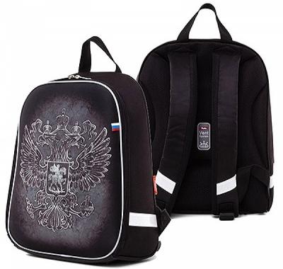 Рюкзак Hatber 38*29*11см Ergonomic light черный