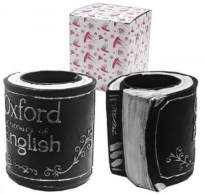 Сувенир KWELT Oxford dictionary of English Книга- подставка под пишущие предметы 13,5*10,5см, полистоун