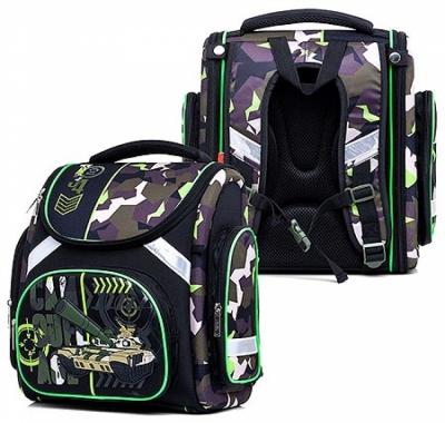 Рюкзак Hatber 37*30*17см Compact plus Милитари