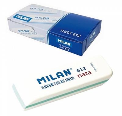 Ластик Milan Nata пластиковый