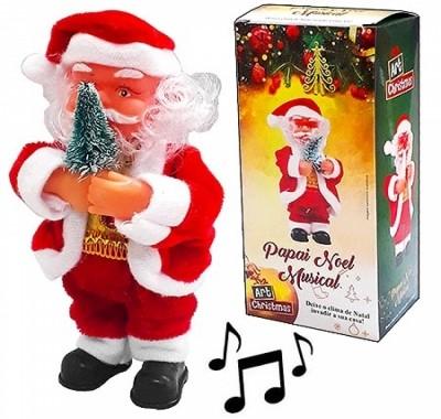 Дед Мороз KWELT 17см музыкальный