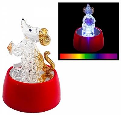 Символ года KWELT фигурка светящаяся Мышь