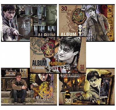 Альбом А4 30л Hatber Гарри Поттер (ассорти)