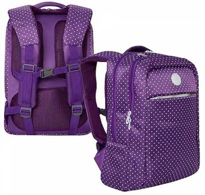 Рюкзак Grizzly 28*40*16см фиолетовый