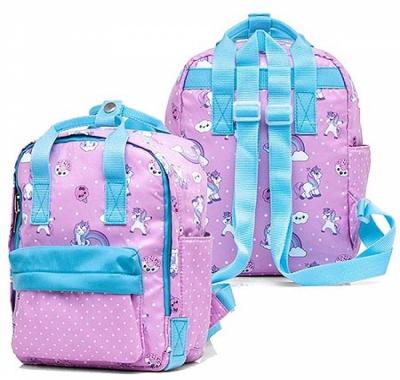 Рюкзак Hatber 27*20*13см Stylish Волшебные единороги розовый