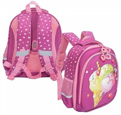 Рюкзак Grizzly 28*36*20см фиолетовый