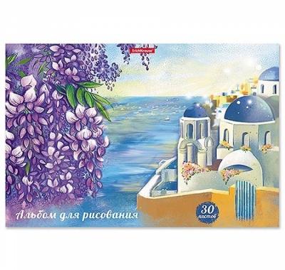 Альбом А4 30л жесткая подложка Erich Krause Цветущая Греция