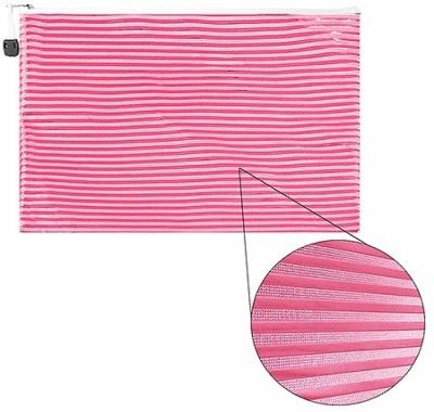 Папка на молнии А4 KWELT Розовая