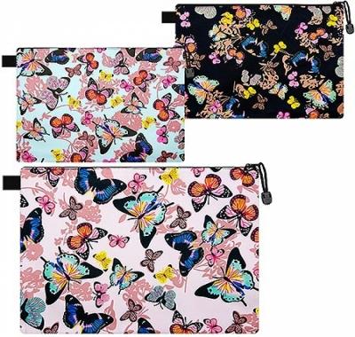 Папка на молнии А6 KWELT Бабочки