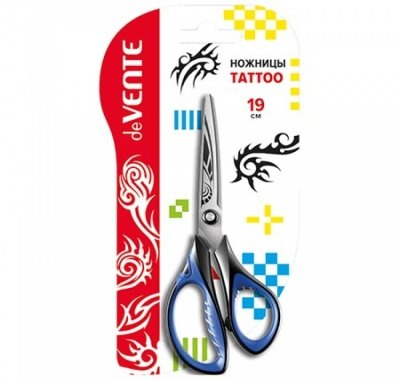 Ножницы deVente Tattoo 19см металлические