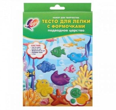 Тесто для лепки Луч Подводное царство