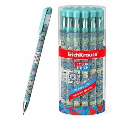 Ручка гелевая Erich Krause ColorTouch Emerald Wave синяя 0,38мм
