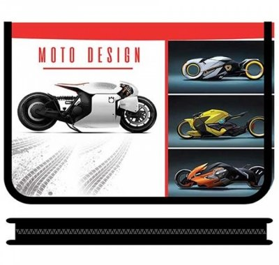 Папка Пчелка молния вокруг Мотоциклы будущего 2021