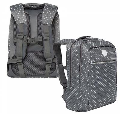 Рюкзак Grizzly 28*40*16см серый