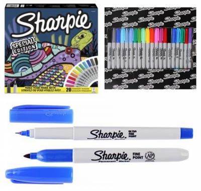 Набор маркеров Sharpie Черепаха 20 цветов