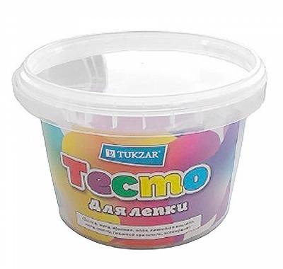 Тесто для лепки Tukzar 6цв*300г+формочка