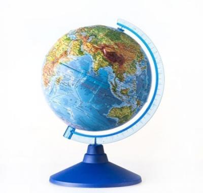 Глобус Globen Земли Рельефный Физический