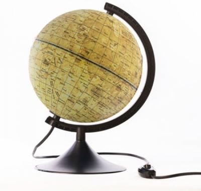 Глобус Globen, Луны 210мм Классик, с подсветкой