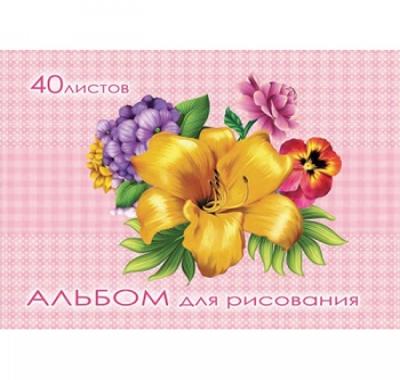 Альбом А5 40л Проф-Пресс