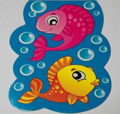 Закладка магнитная Мир открыток. Рыбки