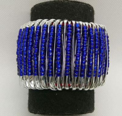 Браслет женский синий