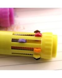 Ручка шариковая. 10-ти цветная