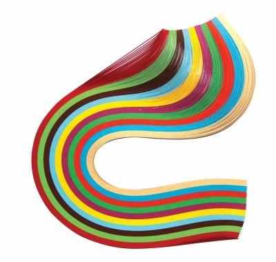 Бумага для квиллинга «Краски лета» 5 мм