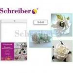 Фоамиран Schreiber А4 10л 1мм Белый цвет