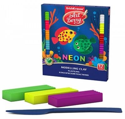 Пластилин Artberry Neon, со стеком