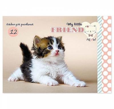 Альбом А5 12л Проф-Пресс Очаровательный котенок