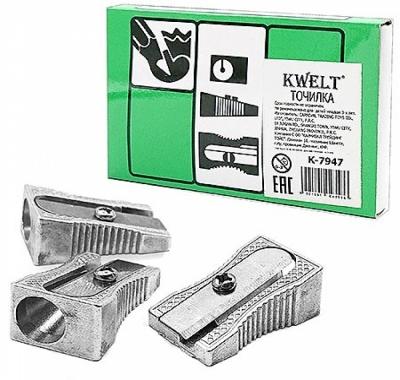 Точилка KWELT 1,5*2,5см металлическая