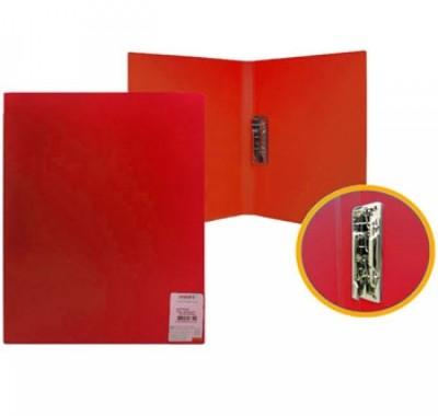 Папка с зажимом Proff Standart красная