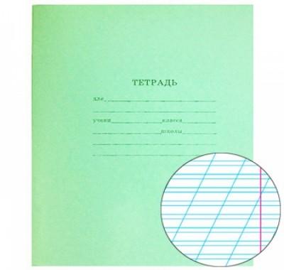 Тетрадь А5 12л Проф-Пресс косая линия